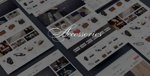 Accessories - Bootstrap HTML5 eCommerce Template            TFx