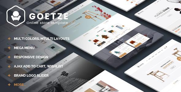 Goetze - Multipurpose Responsive Magento Theme            TFx