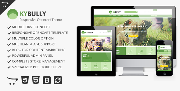 Kybully - Mobile First Opencart Theme            TFx