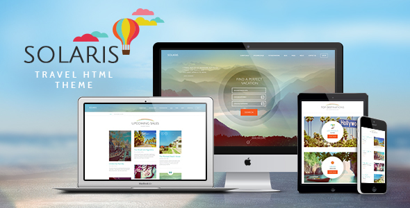 Solaris | Travel Agency Site Template            TFx