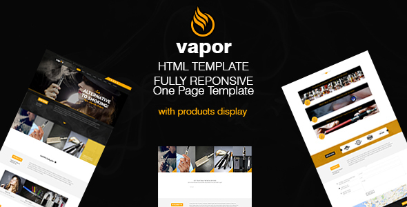 Vapor - eCigarettes Vaporizers & E-Liquid Template            TFx