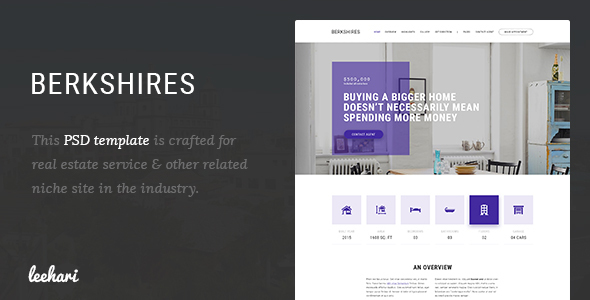Berkshires - Single Property PSD Template            TFx