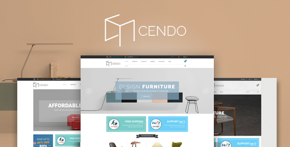 Cendo - Responsive HTML Furniture Template            TFx
