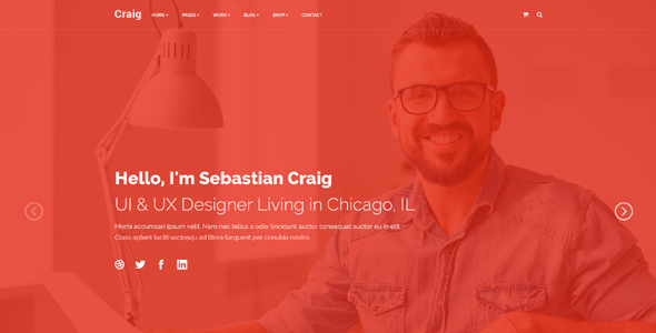 Craig - Personal Landing Page            TFx