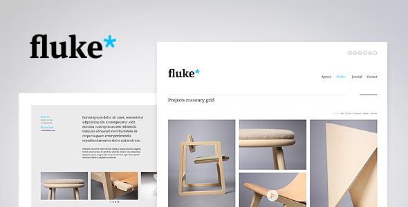 Fluke* - Responsive - Creative Portfolio Template            TFx