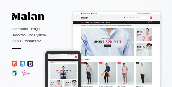 Maian - Premium Responsive Prestashop Theme            TFx