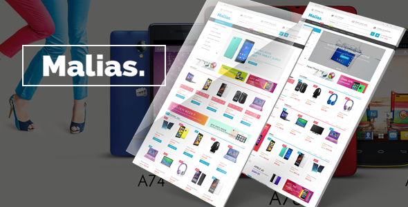 Malias- eCommerce Bootstrap Template            TFx