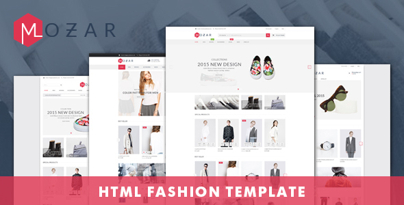 Mozar - Fashion Clothing Bootstrap Template            TFx