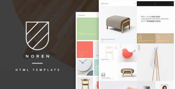 Noren - Multi Store Responsive HTML Template            TFx