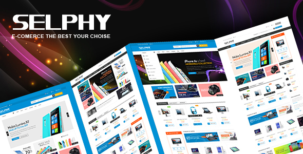 Selphy - Electronics eCommerce Bootstrap Template            TFx