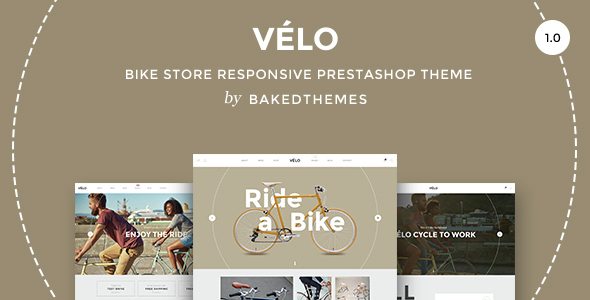 Velo - Responsive Prestashop theme with blog            TFx