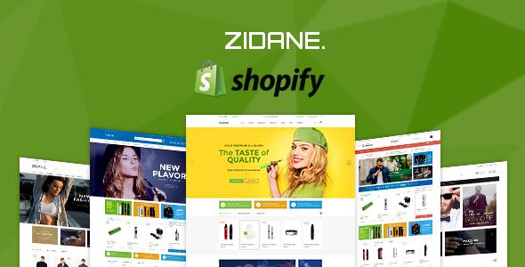 Zidane - Multi Concept Responsive Shopify Theme            TFx