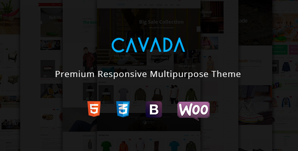 Cavada - Multipurpose WooCommerce WordPress Theme            TFx