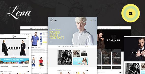 Lena - Shop Joomla Virtuemart Template            TFx