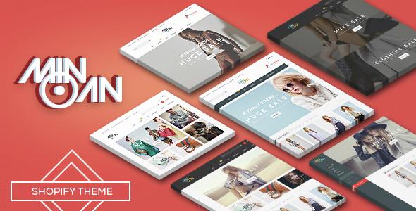 Minoan - Responsive Shopify Theme            TFx
