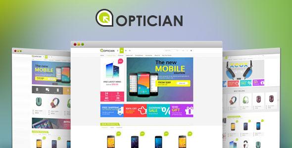 Optician - Digital Bootstrap Template            TFx