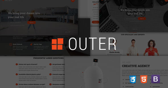 Outer - Creative Landing Page            TFx