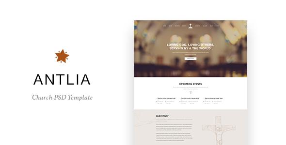 Antlia - Church PSD Template            TFx