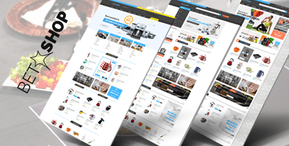 Betashop - Kitchen Appliances Responsive Prestashop Theme            TFx