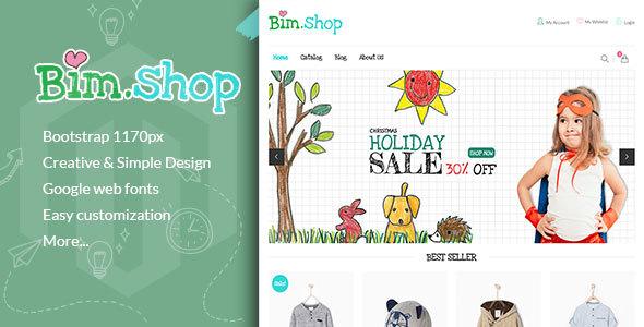Bimshop – Kidstore Responsive Shopify Theme            TFx