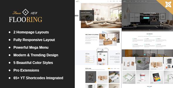 Flooring - Responsive WooCommerce WordPress Theme for Interior Websites            TFx