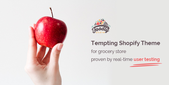 Foodly - One-Stop Shopify Grocery Shop            TFx