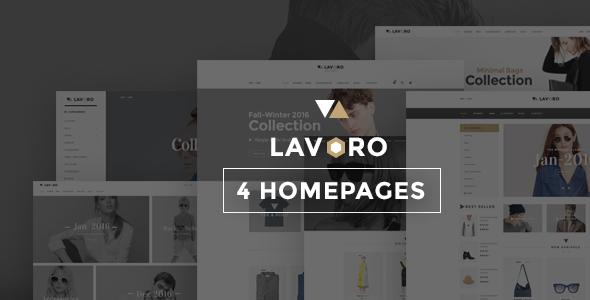 Lavoro - Shopify Theme            TFx