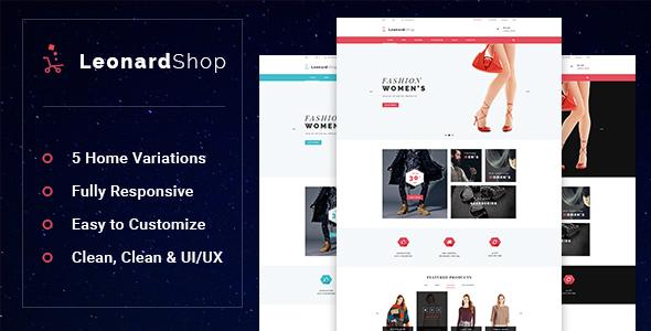 Leonard - Fashion Store Prestashop Theme            TFx