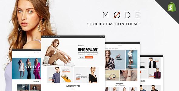 MODE - Great Fashion Shopify Themes            TFx