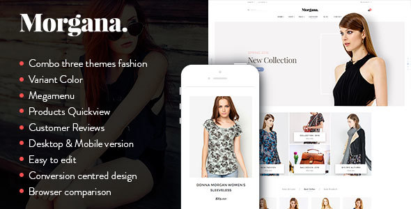 Morgana - Responsive Shopify Theme            TFx