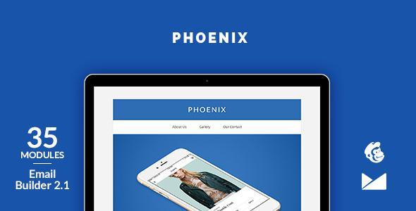 Phoenix Email Template + Online Emailbuilder 2.1            TFx