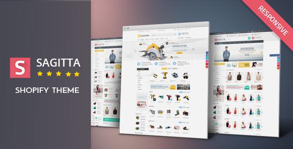 Sagitta - Responsive Shopify Theme            TFx