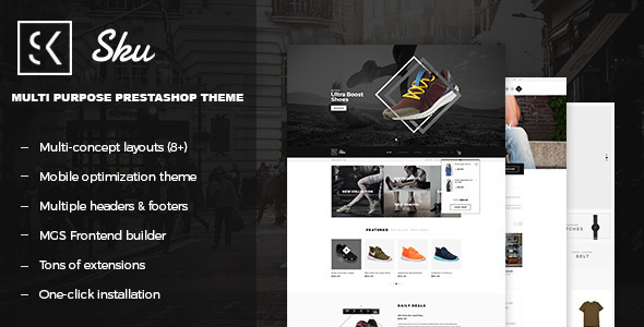 Sku - Multi Purpose Responsive PrestaShop Theme             TFx
