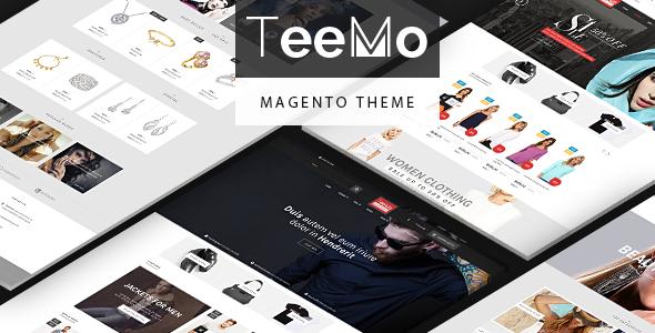 Teemo - Multipurpose Responsive Magento Theme            TFx