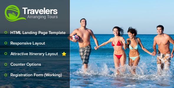 Travelers Landing Page            TFx