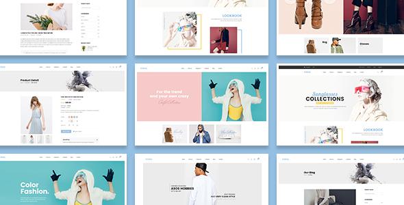 Vixka Responsive Shopify Theme            TFx