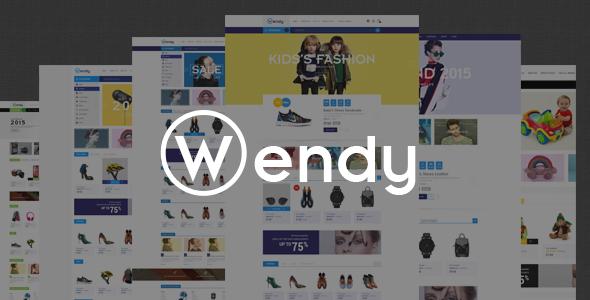Wendy - Responsive Fashion Shopify Theme            TFx