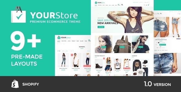 YourStore - Shopify theme            TFx
