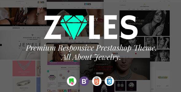 Zales |  Beauty & Jewelry Diamond Rings Responsive Prestashop Theme            TFx