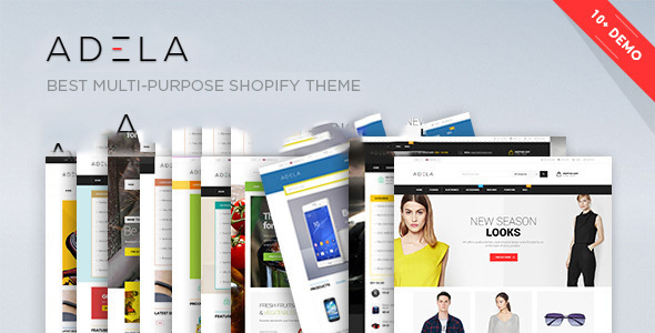 Ap Adela Shopify Theme            TFx