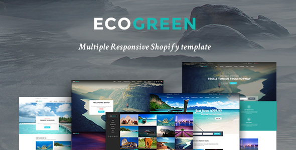Ap Eco Green Shopify Theme            TFx