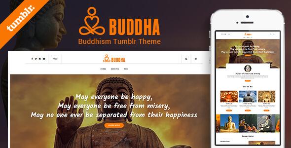 Buddha Tumblr Theme            TFx