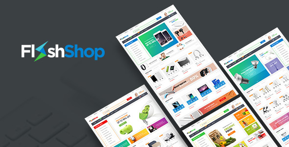FlashShop - Responsive Prestashop Theme for Digital Store            TFx
