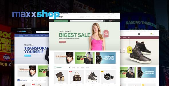 Maxx - Shopify Theme            TFx