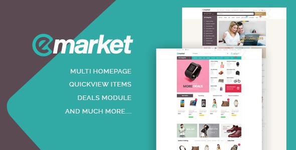 ST Emarket Shopify Theme            TFx