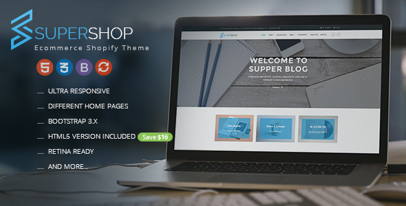 Super Shop - Responsive Shopify Theme            TFx