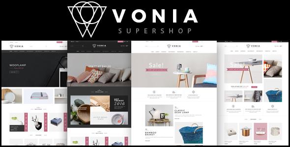 Vonia - Multipurpose Responsive Magento 2 Theme            TFx