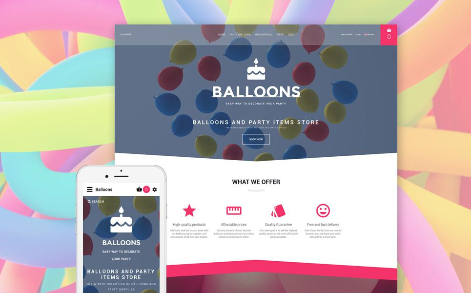 Event Planner Responsive OpenCart Template TMT