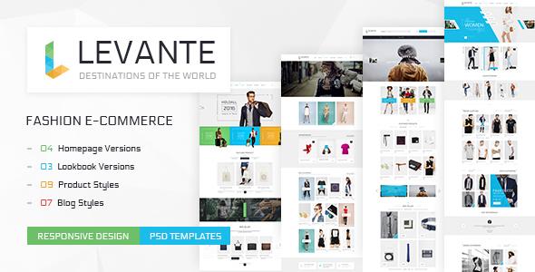 Levante - Clean Shop PSD Templates            TFx
