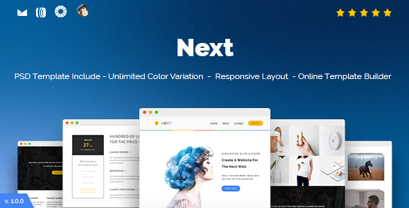 Next - Responsive Email and Newsletter Template            TFx